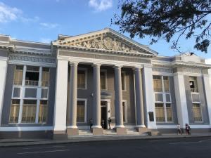 San Lorenzo College in Cienfuegos.