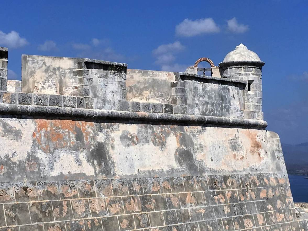 Ramparts of Santiago Fort