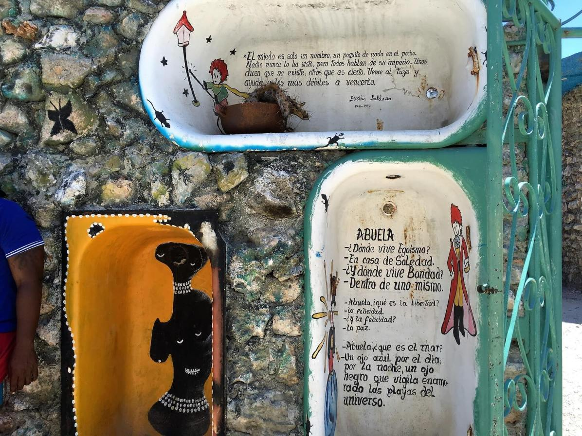 Hamel Alley street art in Havana