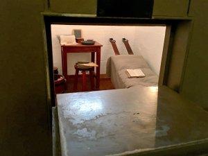 Prison cell in Port Arthur, Tasmania