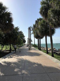 South Beach jogging path