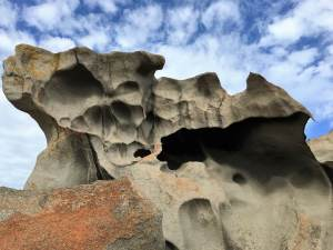 Dali-esque Rocks, Kagaroo Island, Australia a