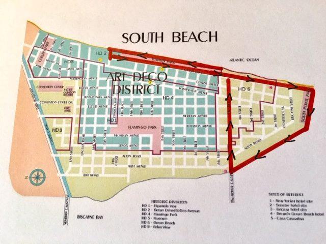 South Beach self guided walk