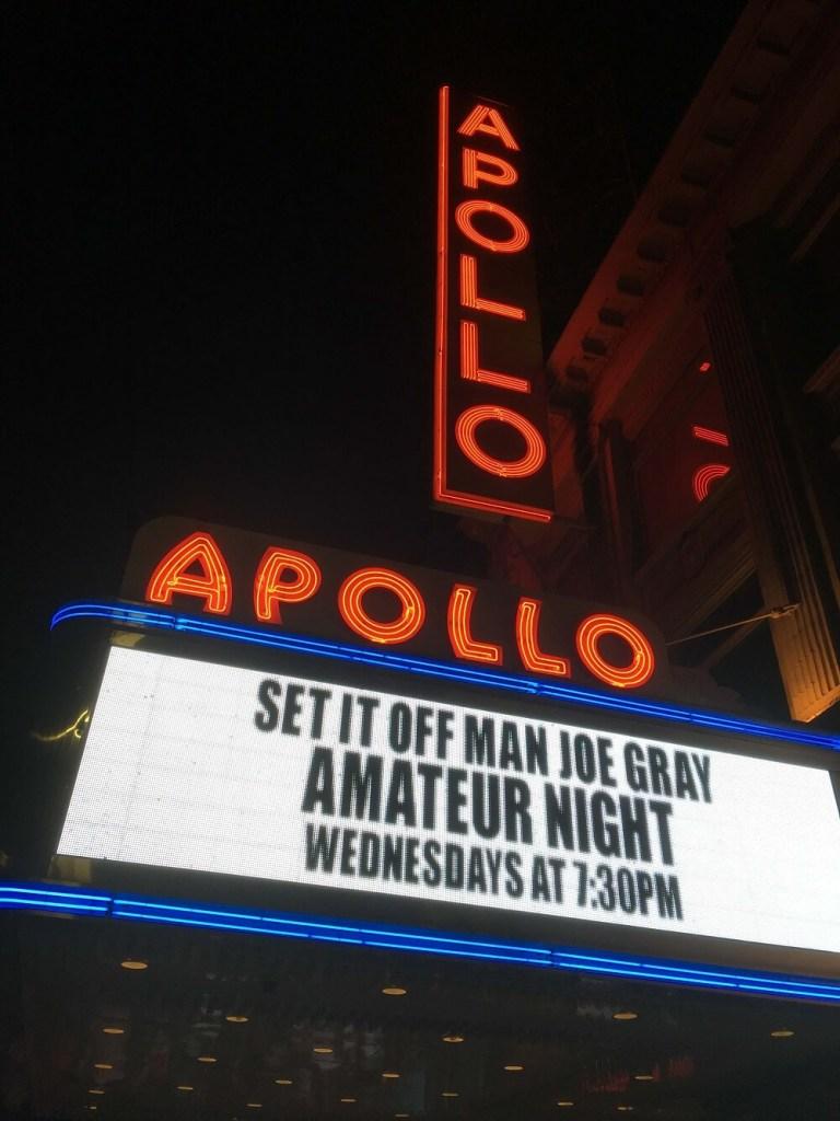 The Apollo Theater in New York City