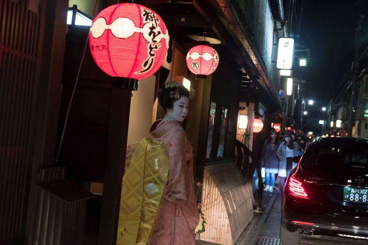 Geisha lesson