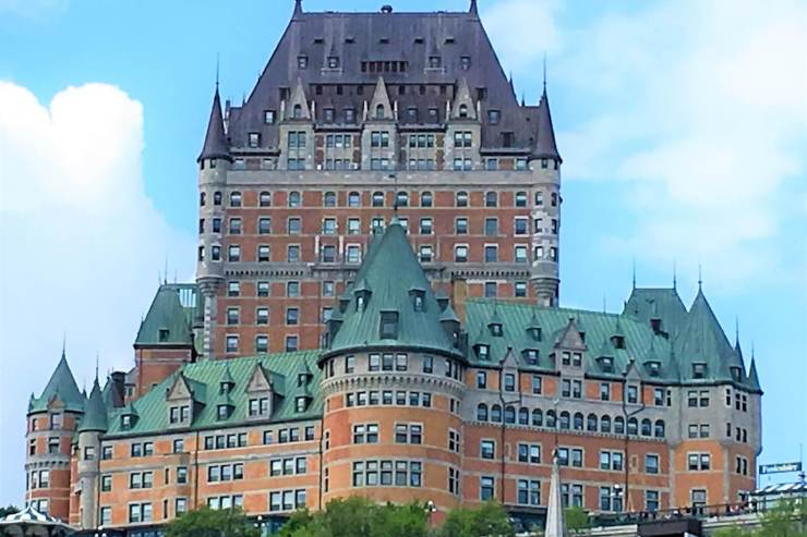 Frontenac in Old Quebec