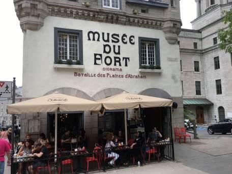 food in Old Quebec