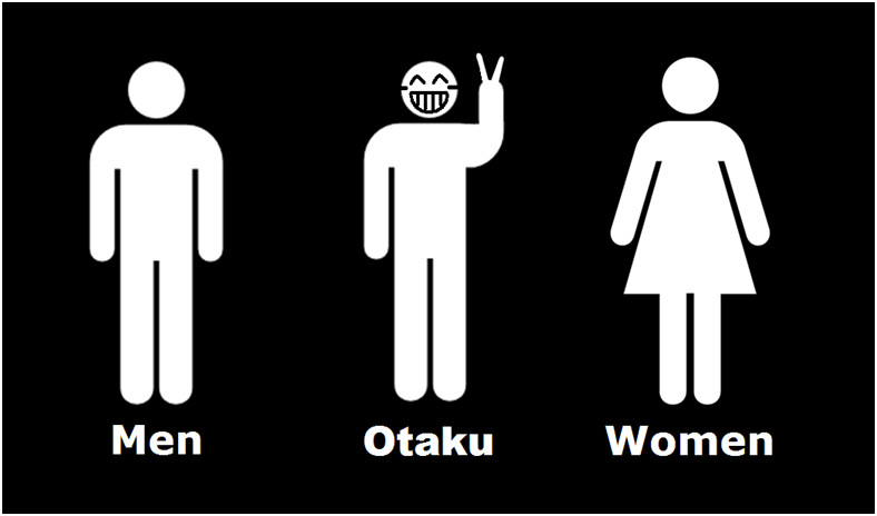 Otaku have their own bathrooms in Japanese toilets?