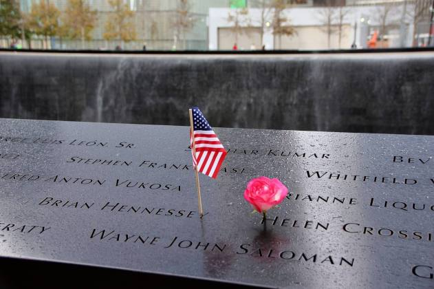 The Memorial is peaceful reflection