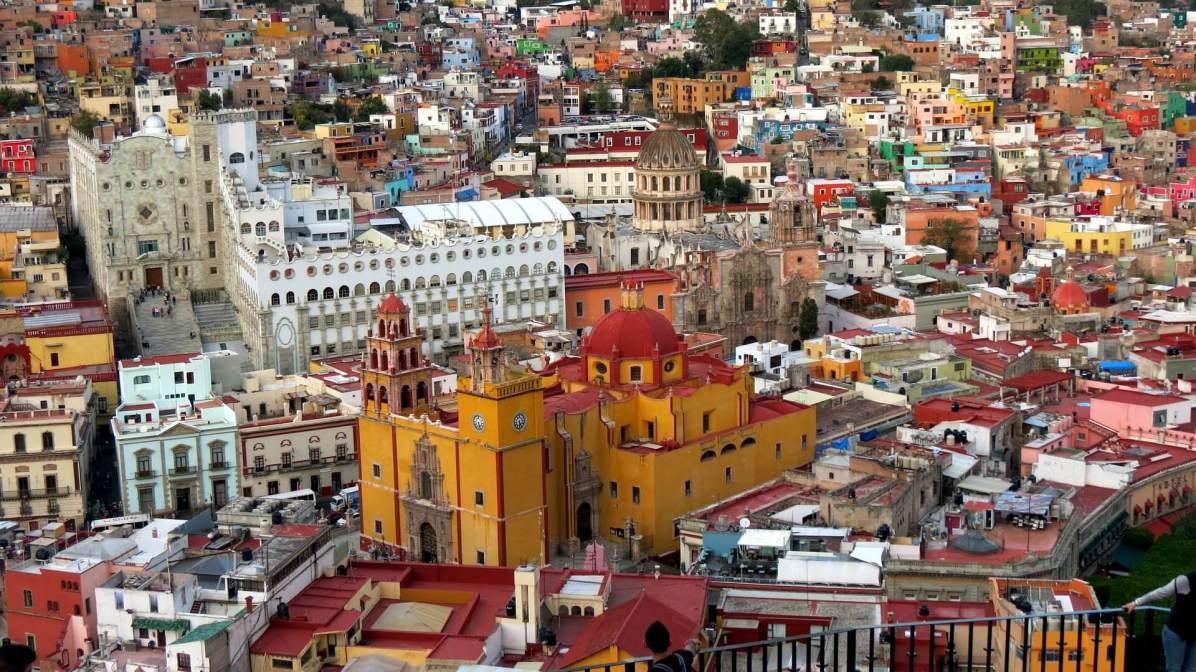 Guanajuato's Basilica of Our Lady of Guanajuato