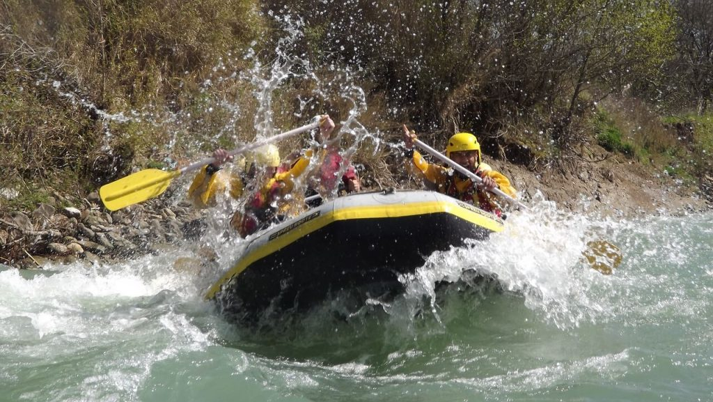 Bucket list raft trip