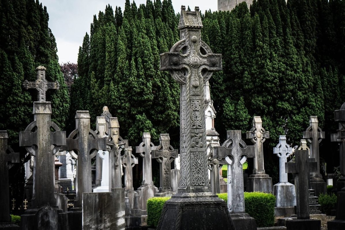 Ireland is famous for its cemeteries
