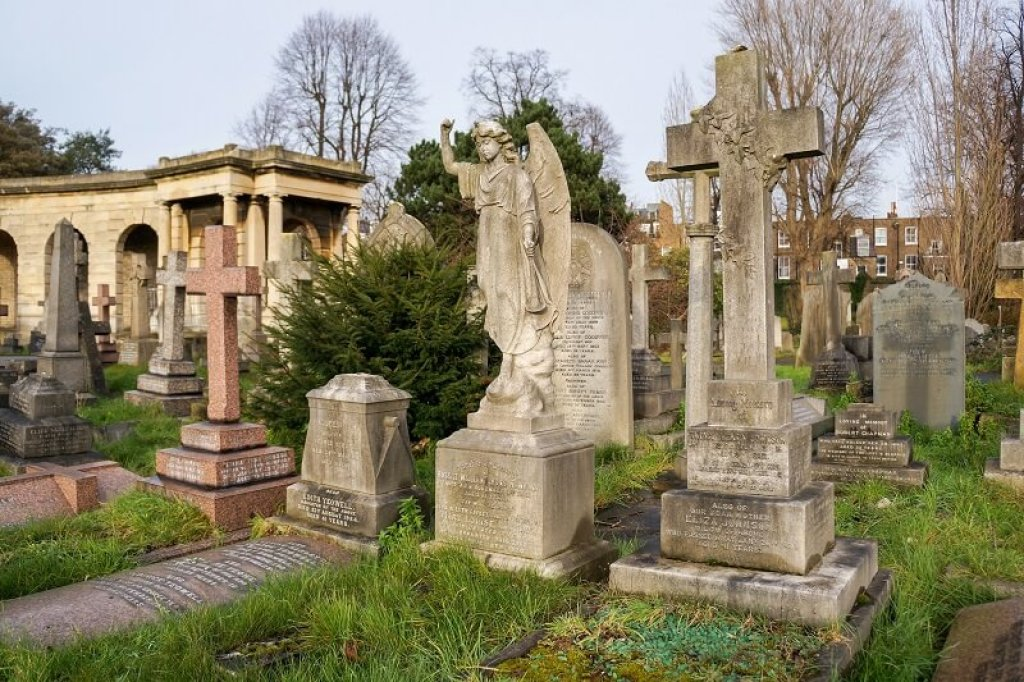One of the beautiful and unique European cemeteries