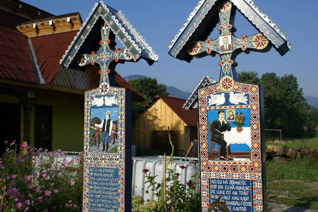 Romania's Merry cemetery is one of the famous European cemeteries