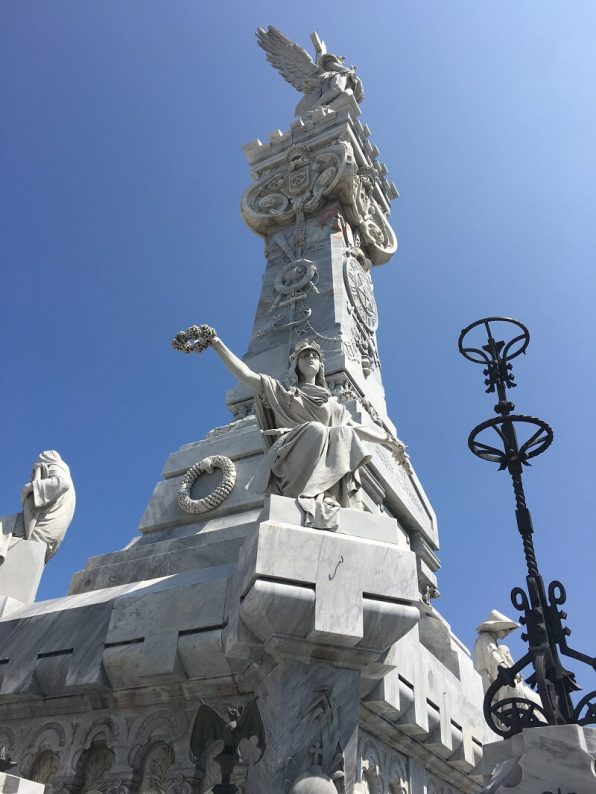 Colon. One of the historical cemeteries, on your perfect Cuba itinerary