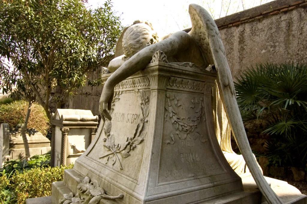 Non-Catholic cemetery, one of the famoous European cemeteries