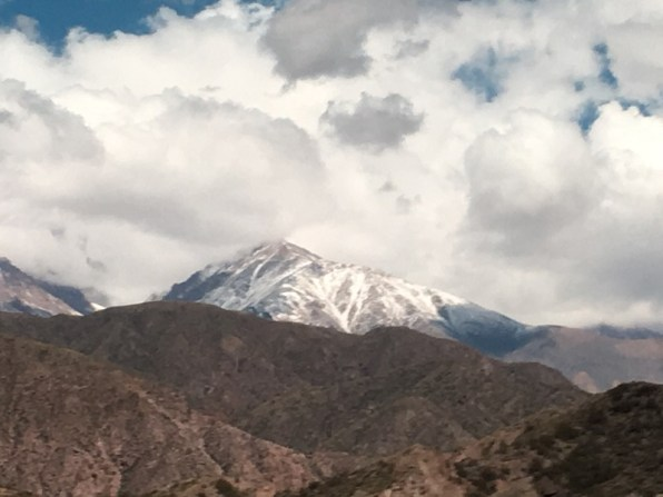 crossing the Andes by bus