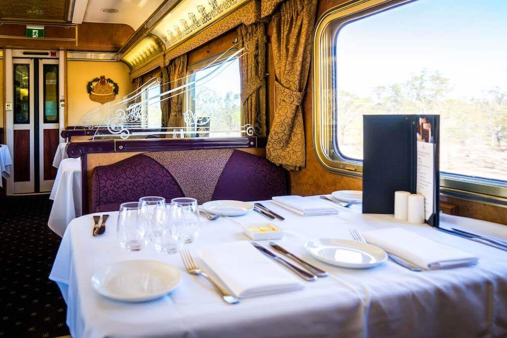 The Ghan - scenic railway journeys