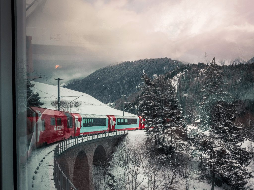 Scenic Railway Journeys - Glacier Express