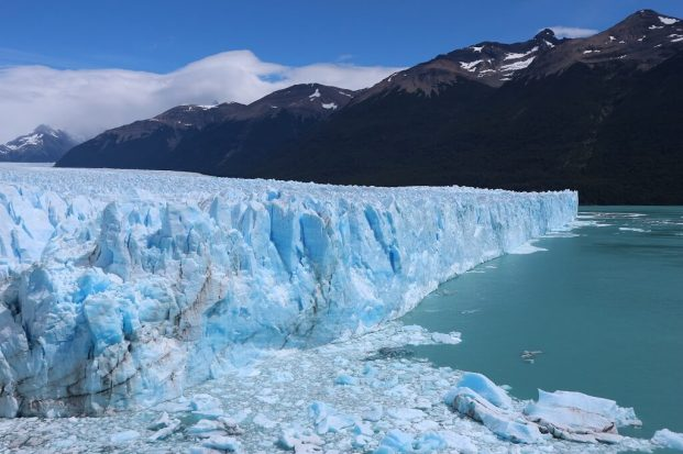 Perito Moreno side view