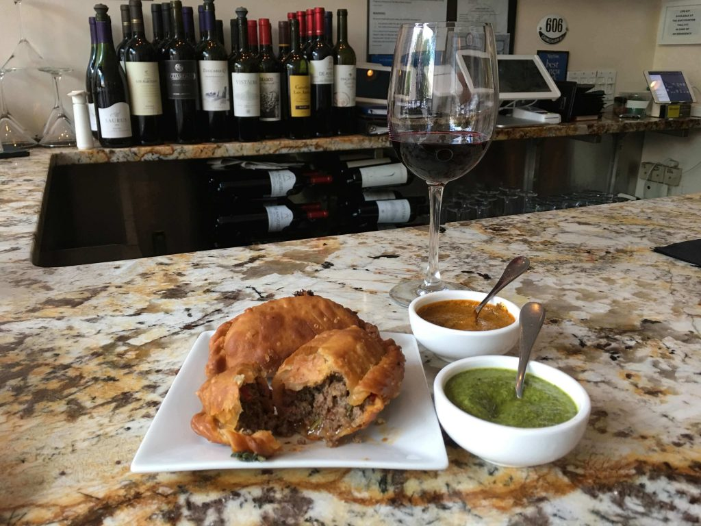 authentic ethnic restaurants in New York City offer empanadas