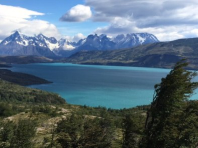 Torres del Paine National Park lakes