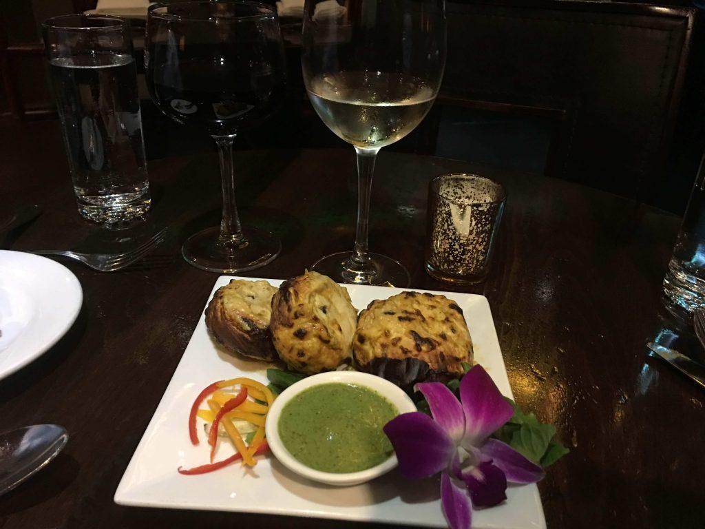 authentic ethnic restaurants in New York City offer Indian samosas.