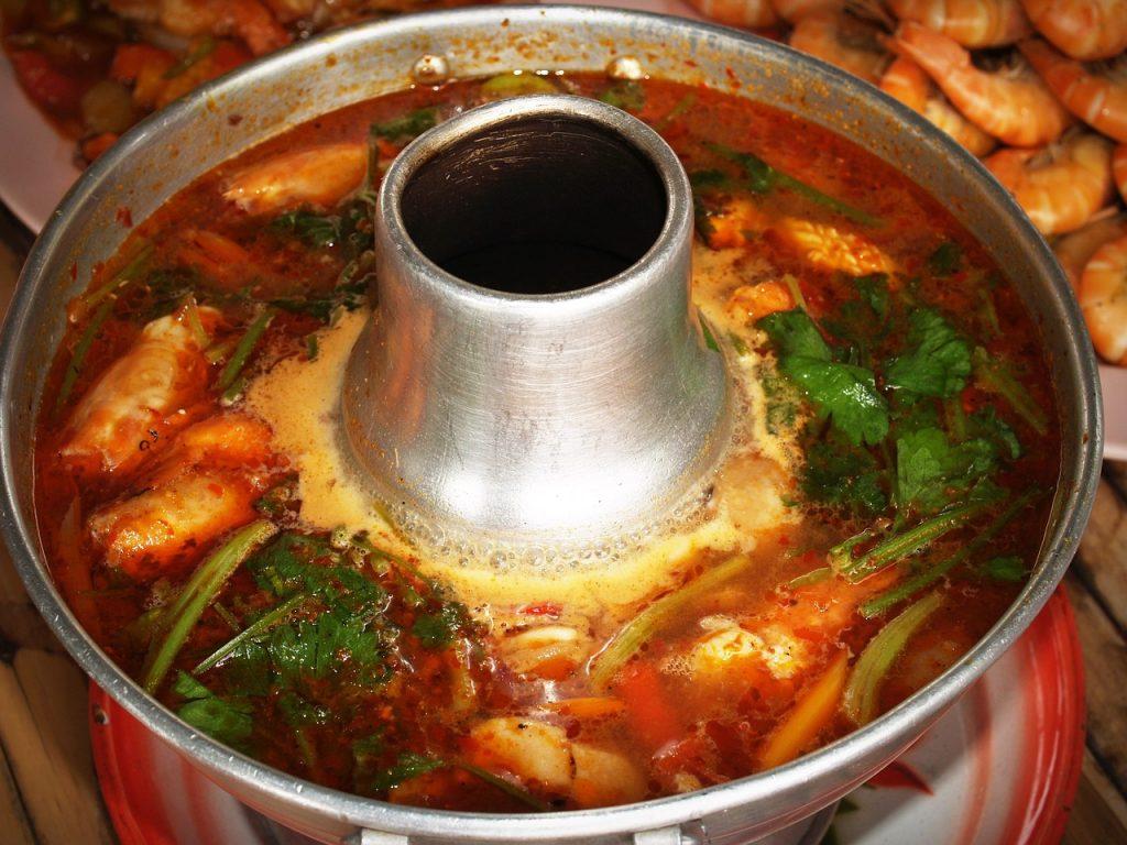 Authentic ethnic restaurants in New York City offer Thai food.