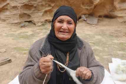 woman Bedouin closeup