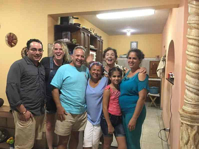 Cuban family on our Cuba cultour tour