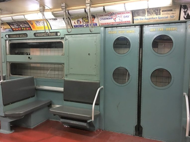 subway train from the 1970s