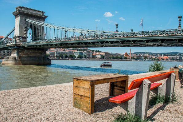 Danube River Promenade in Budapest