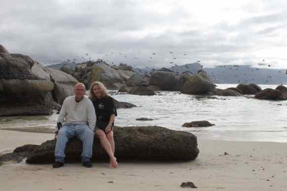 Randy and I on Boulder Beach