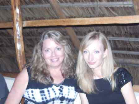 Suzanne and I