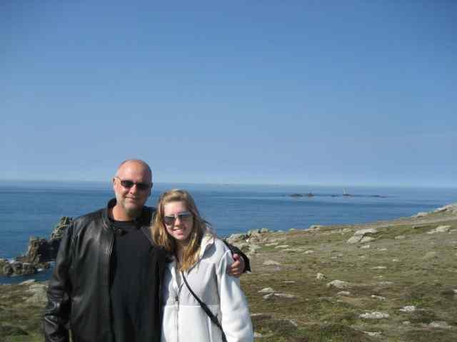 Cornwall- Da and I