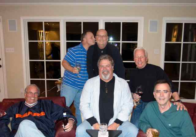 In January 2014, friends from around the country came to celebrate Randy's recovery.