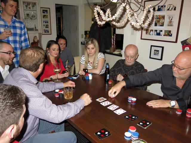 Poker for Christmas, Mintons and Greenbergs