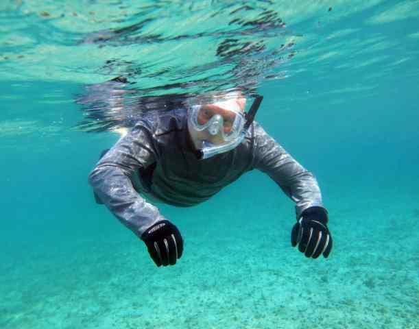 Enjoying the waters of Cozumel!