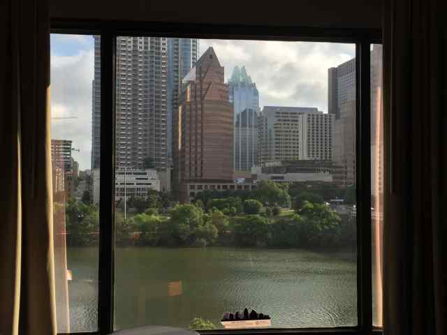 A Room with a View at the Hyatt Regency Austin
