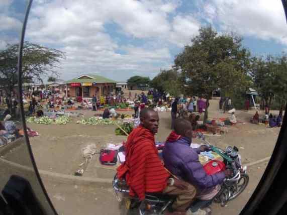 Market day in Tanzania