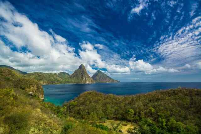 St Lucia's Famous Pitons.