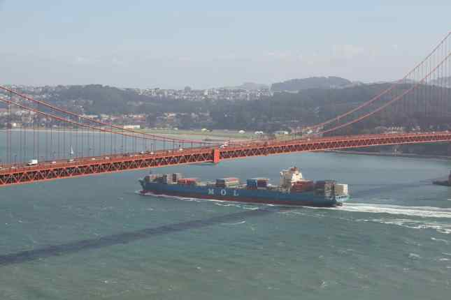 San Francisco, Golden Gate Bridge, Travels with Tam