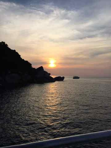 fin, thailand, dive trip