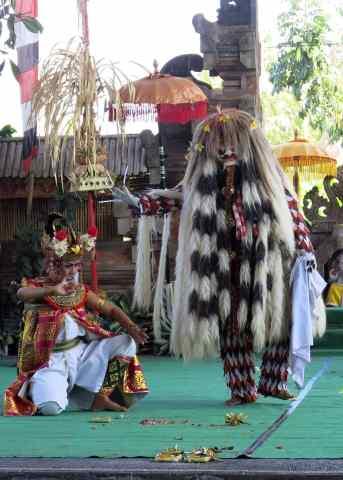 balinese culture, rangda, barong