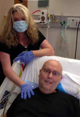 pulmonary fibrosis, lung transplant, unexpected journey
