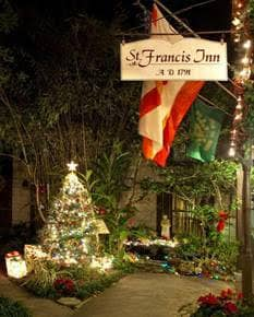 Light up your Life, holiday lights, free stuff, featured, casa de suenos, st francis inn, st augustine, florida
