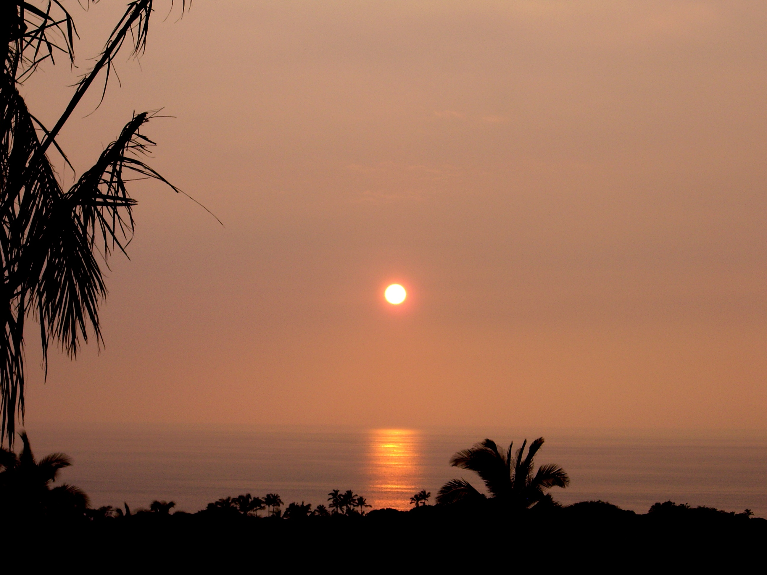 Kona sunset, Hawaii