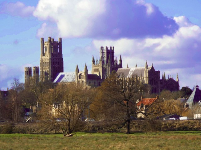 Ely is an easy day trip from Cambridge