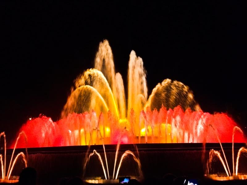 The Magic Fountain Show, Barcelona