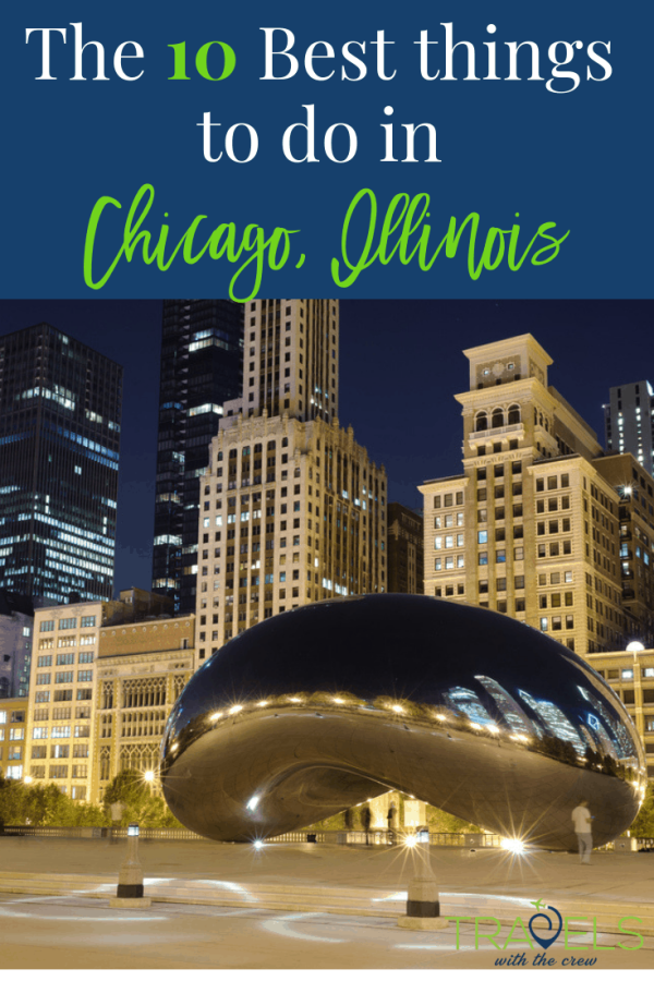 Chicago has so many things for families to do! Don't miss out on a thing #navypier #thebean #theater #museumofscience